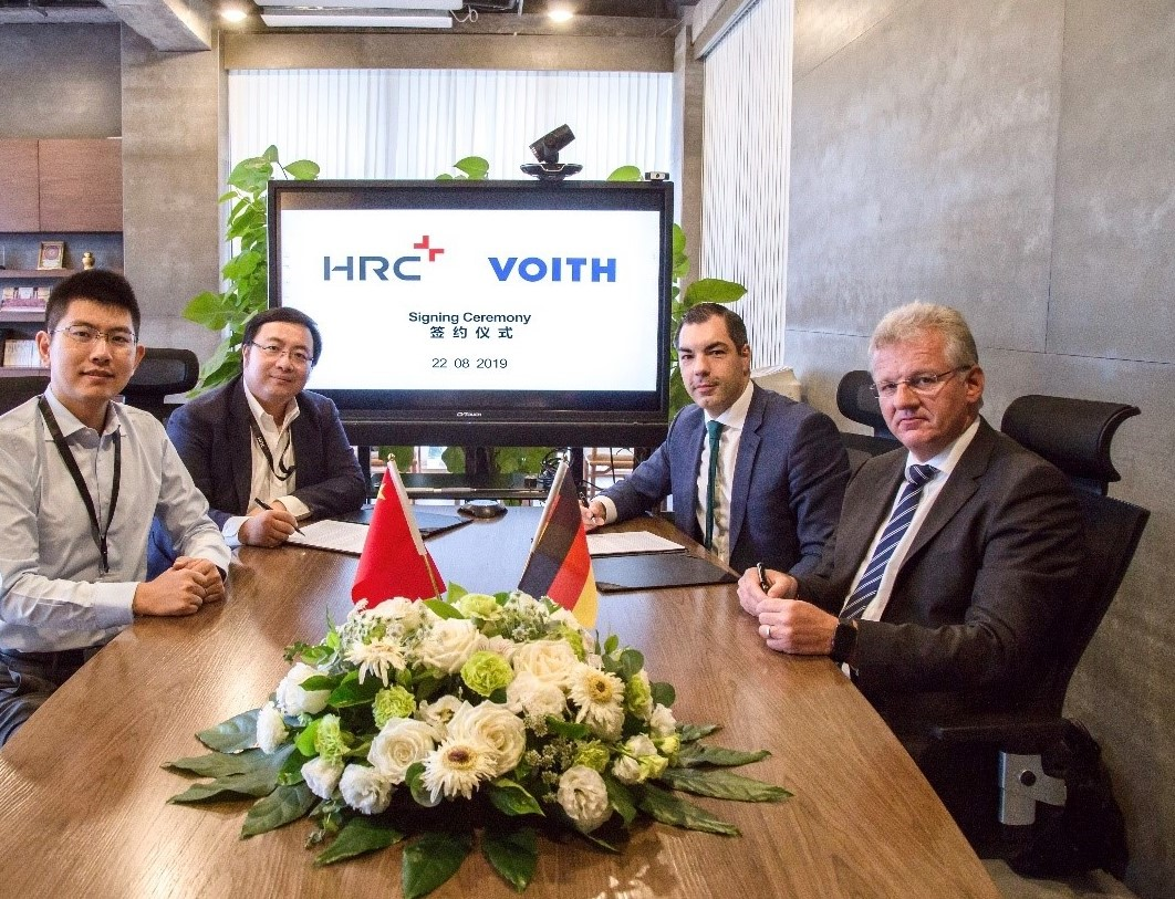 HRC and Voith Composites co-develop hydrogen high pressure vessels for fuel cell applications