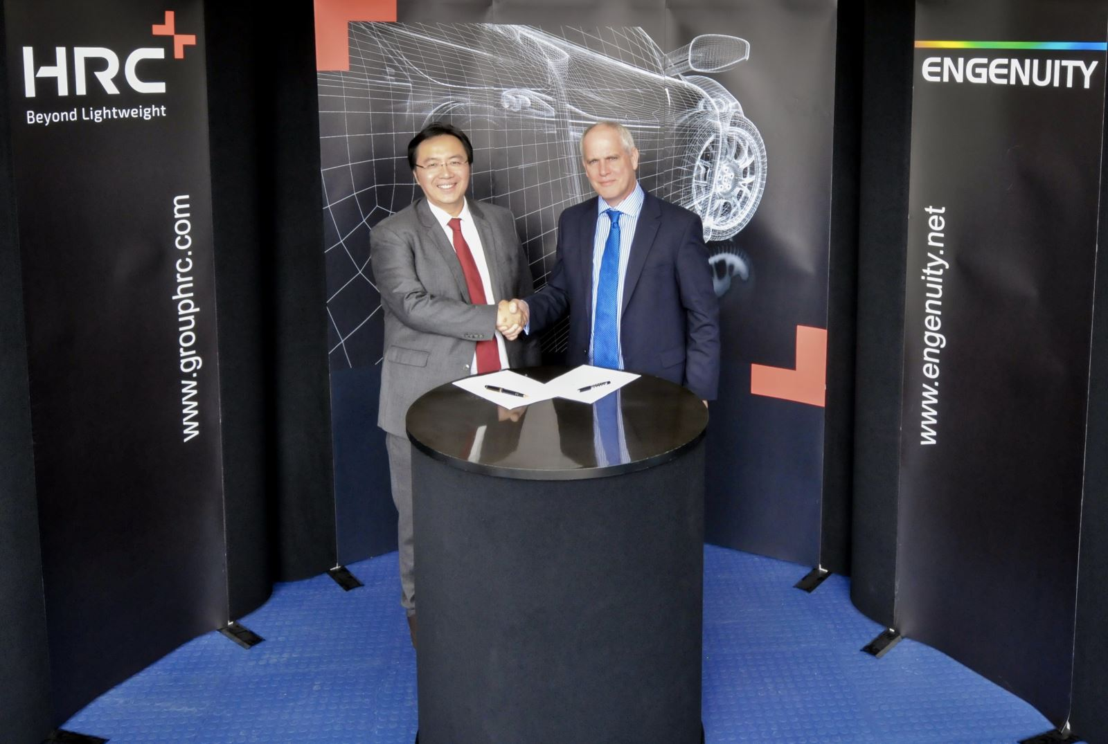 Acquired by HRC, Top UK Composite Material Engineering Company Engenuity Officially Entering China