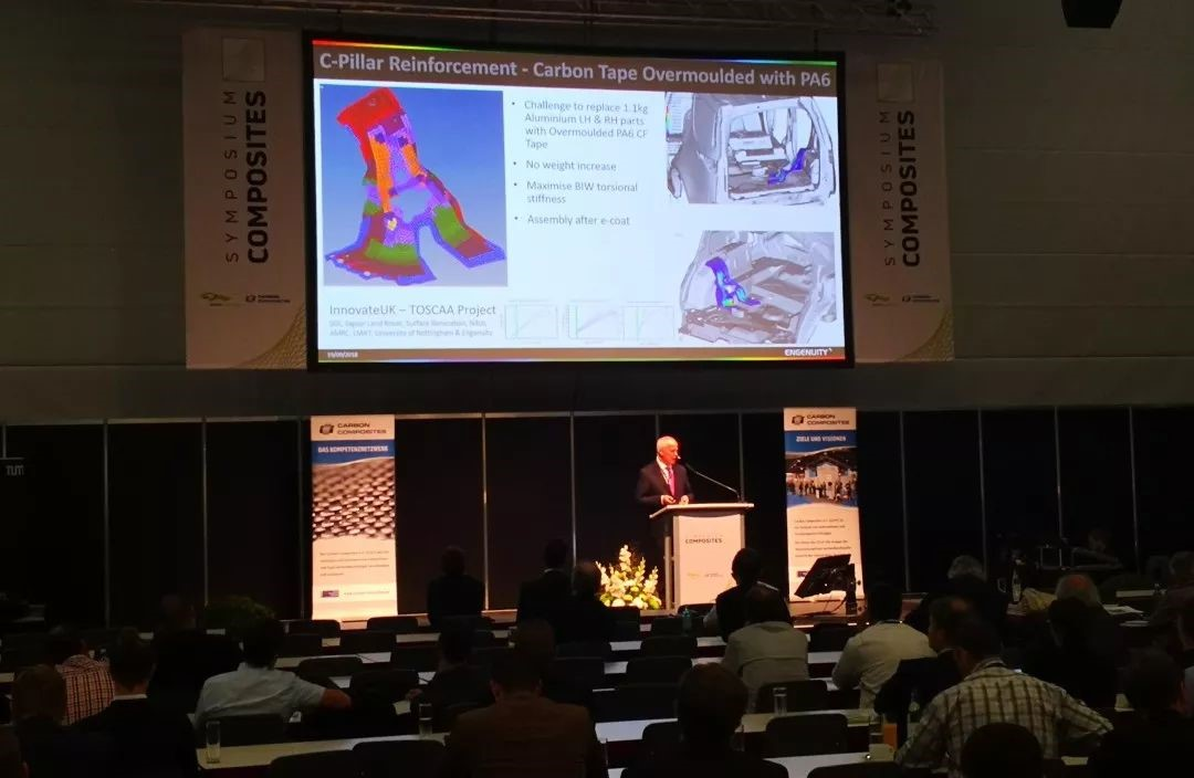 New Engineering Unit of HRC - Engenuity Made Its First Debut at Symposium Composites in Augsburg